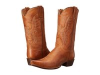 Stetson 12 Classic Lady Snip Toe Tan Cowboy Boots
