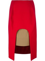 Marni Coloured Block Cut Out Skirt
