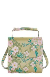 Marques Almeida Marques'almeida Floral Print Handbag With Coin Wallet And Key Chain