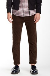 The Kooples Corduroy Biker Pant Brown