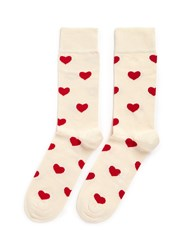 Happy Socks Heart Multi Colour