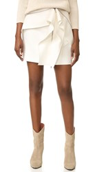 Dion Lee Zip Miniskirt White