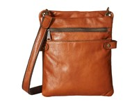 Patricia Nash Francesca Organizer Sling Crossbody Tan Cross Body Handbags