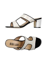 Bibi Lou Footwear Sandals Women Ivory