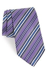 J.Z. Richards Men's Stripe Silk Tie