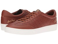Fred Perry Umpire Tumbled Leather Tan Men's Shoes