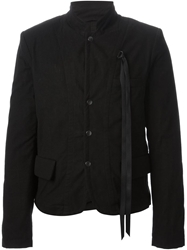 Ann Demeulemeester Fitted Jacket Black