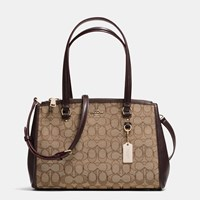 Coach Stanton Carryall 29 In Signature Canvas Light Gold Khaki Brown