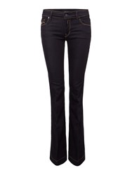 Replay Teena Flare Fit Jeans Denim Dark Indigo