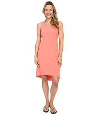 Columbia Departure Point Dress Coral Bloom Women's Dress Orange