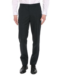 Ikks Charcoal Slim Fit Trousers