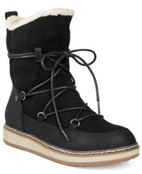 White Mountain Topaz Cold Weather Boots Women's Shoes Black