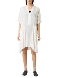 Allsaints Flo Dress Chalk White