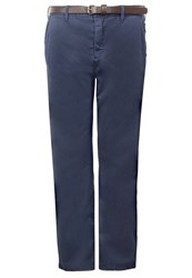S.Oliver Chinos Plum Dark Blue