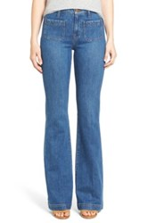 Madewell 'Flea Market' High Rise Flare Jeans Lucy Blue