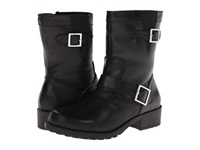 Softwalk Bellville Black Smooth Leather Women's Zip Boots