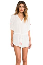 Eberjey Parker Cover Up Ivory