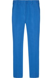 Reed Krakoff Cotton Blend Skinny Pants Royal Blue