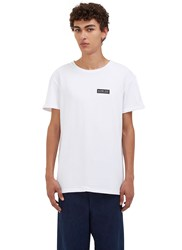 Story Mfg. Slow Tek Crew Neck T Shirt White
