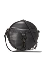 Rebecca Minkoff Mac Circle Cross Body Bag Black