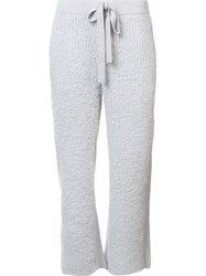 Undercover Cashmere Cropped Pants Grey
