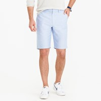 J.Crew 10.5 Solid Oxford Short