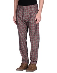 Monocrom Trousers Casual Trousers Men Brick Red