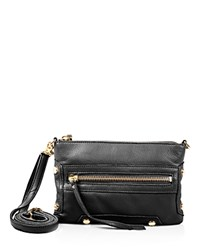 Linea Pelle Walker Crossbody Black