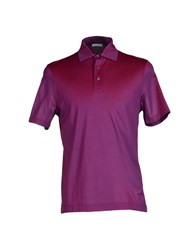Zanieri Topwear Polo Shirts Men Mauve