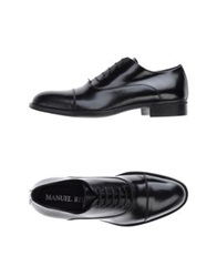 Manuel Ritz Lace Up Shoes Black