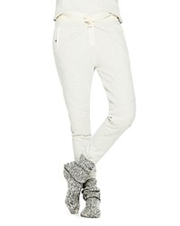Scotch And Soda Quilted Jogger Pants Stone Melange Grey