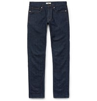 Incotex Slim Fit Stretch Denim Jeans Blue