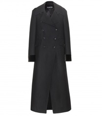 Tom Ford Wool Coat Black