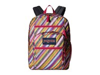Jansport Big Student Multi Texture Stripe Backpack Bags