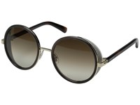 Jimmy Choo Andie S Rose Gold Brown Brown Gradient Fashion Sunglasses Black
