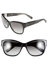 Women's Bobbi Brown 'The Veronika' 57Mm Sunglasses Black