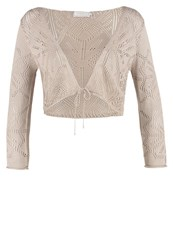 Cream Sinna Cardigan Sand Beige