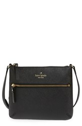 Kate Spade New York 'Tenley' Saffiano Leather Crossbody Bag Black