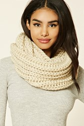 Forever 21 Ribbed Knit Infinity Scarf