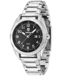 Timberland Men's New Market Stainless Steel Bracelet Watch 45Mm Tbl13330xs02m Silver
