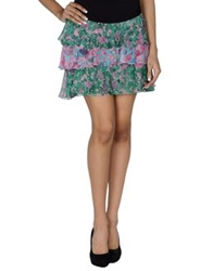Gryphon Mini Skirts Green