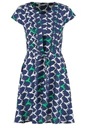 Anonyme Designers Summer Dress Navy Blue