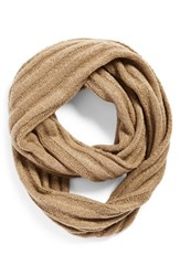 Junior Women's Bp. Ribbed Cable Knit Infinity Scarf