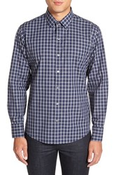 Zachary Prell Men's 'Albert' Trim Fit Plaid Sport Shirt