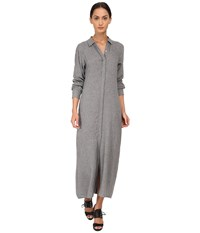 Theory Scenta Dress Heather Grey Women's Dress Gray