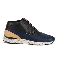 Gourmet Men's Quadici Lite Trainers Peacoat Veg Tan Navy