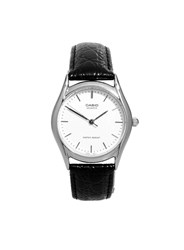 Topman Casio Core Collection Black Leather Watch
