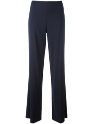 Vince Flared Trousers Blue