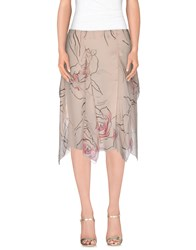 Valentino Roma Skirts Knee Length Skirts Women Light Pink