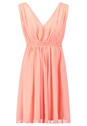 Vila Vicotina Cocktail Dress Party Dress Pink Sand Coral